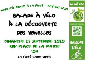 balade à vélo à travers les venelles fertésiennes 27/09/2020